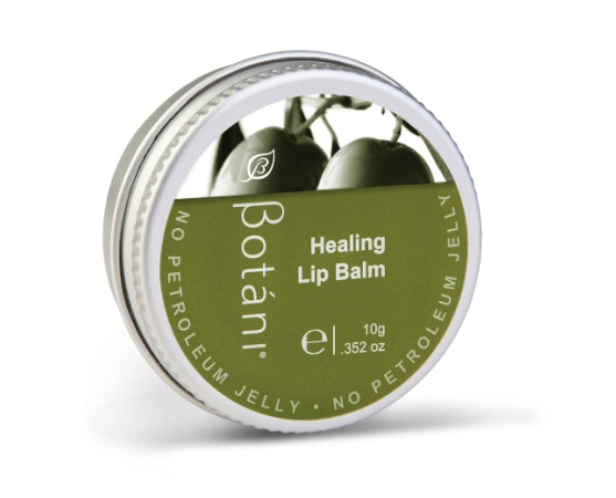 Olive Based Lip Balm In a Silver Tin