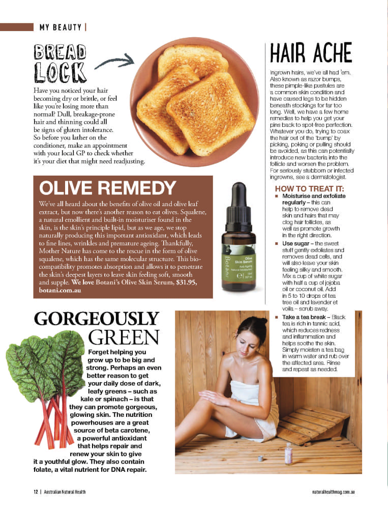 Australian Natural Health Oct Nov 15