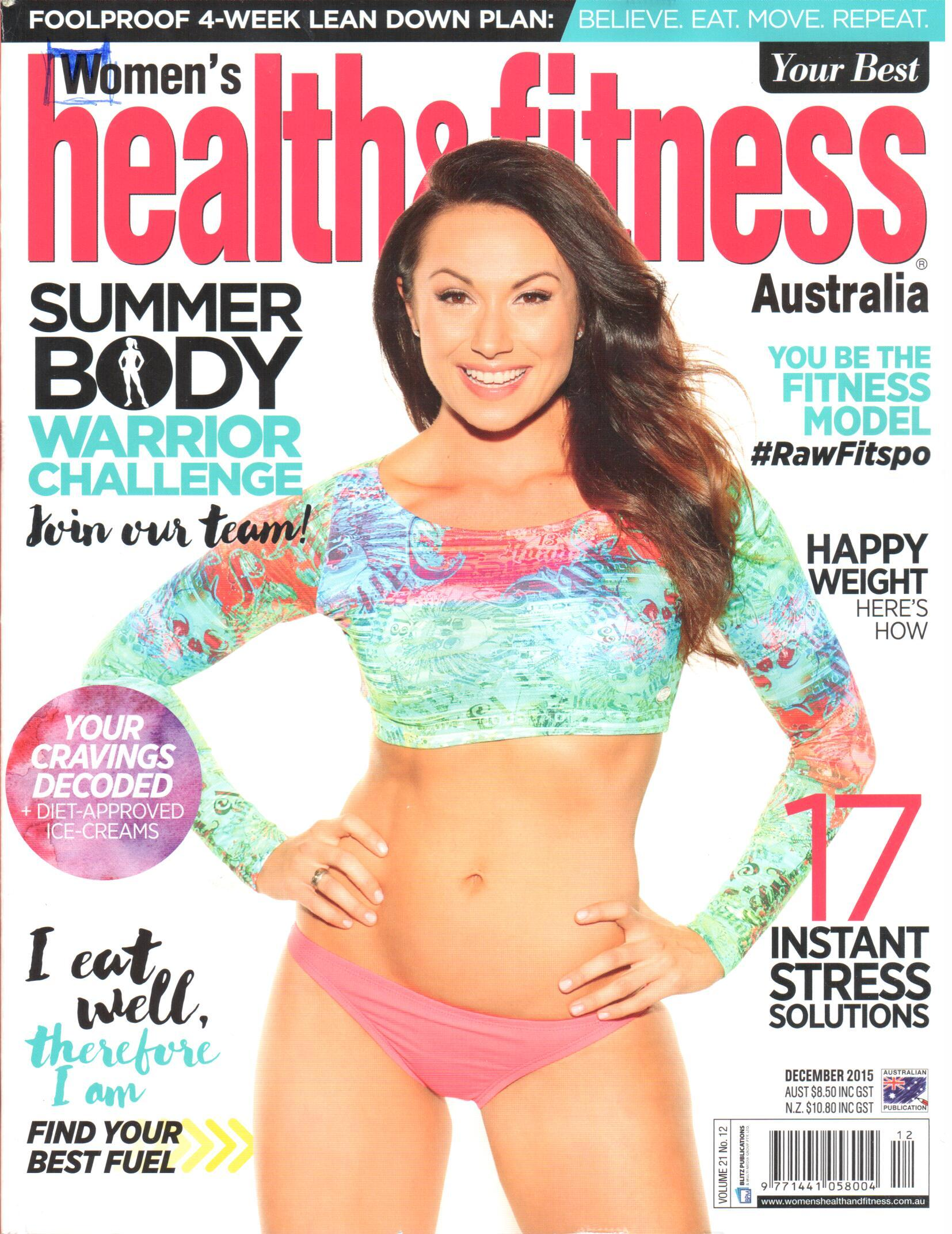 A Women's Health & Fitness Magazine Front Cover