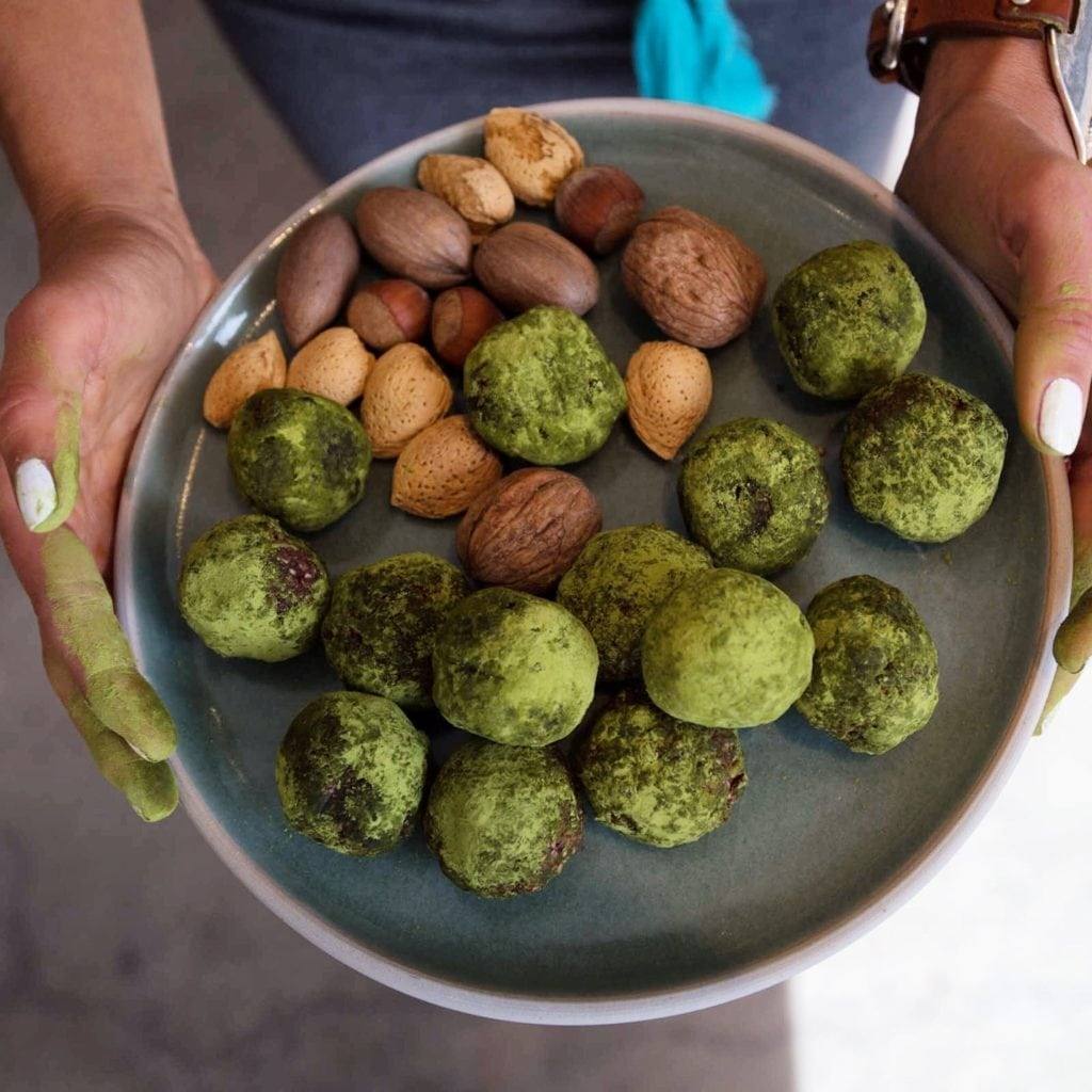 Green Tea Amazeballs Packed With Protein