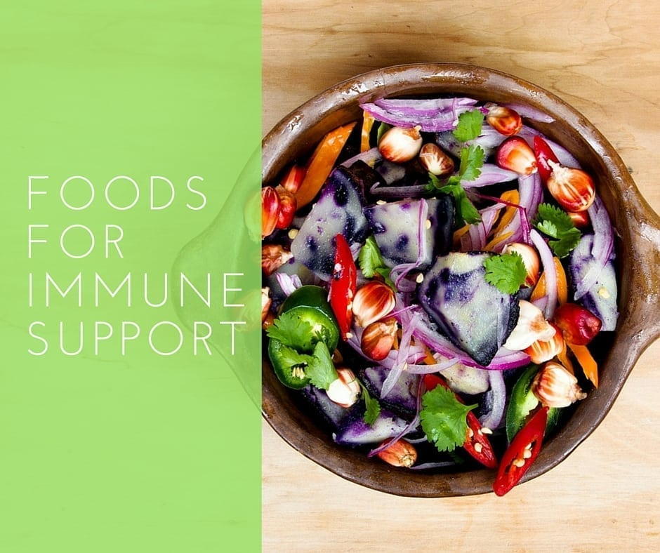 Nourishing foods to support your immunity and boost your skin health