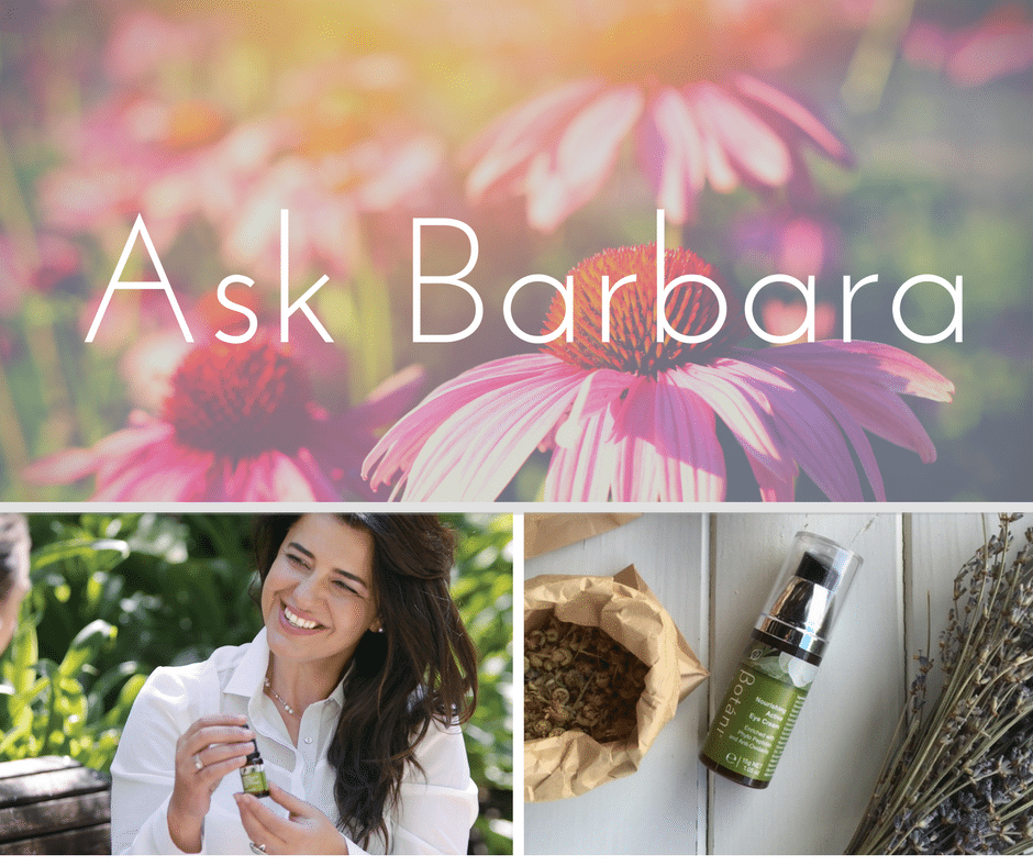 eye cream is this weeks topic for the Ask Barbara series