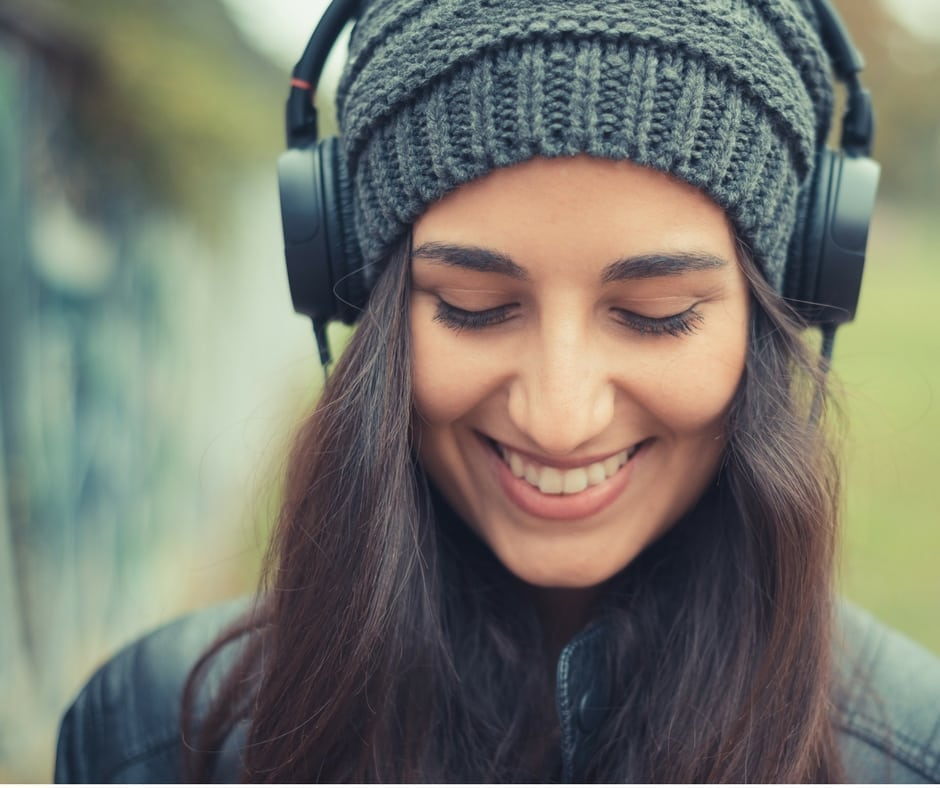 how audiobooks may help improve your skin health