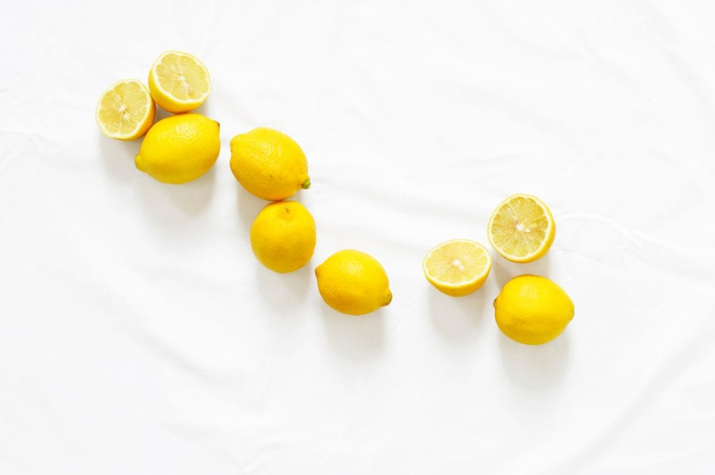 lemons in your diet for treating acne naturally