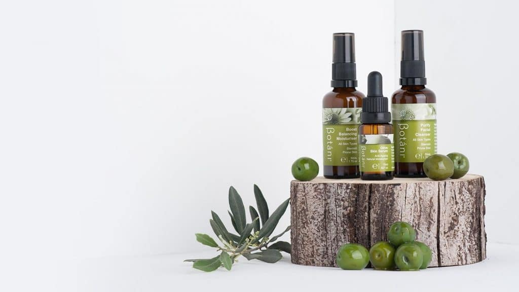 botani products with olives